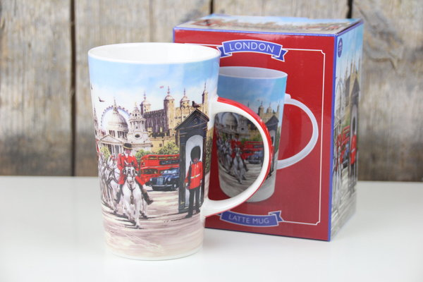 The Leonardo Collection - Becher / Tasse - Latte Mug - London - 350 ml