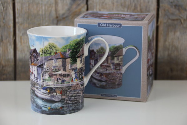 The Leonardo Collection - Tasse / Becher - Old Harbour / Hafen - Fischerboote